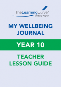 Teacher Lesson Guide – 2021 My Wellbeing Journal 10