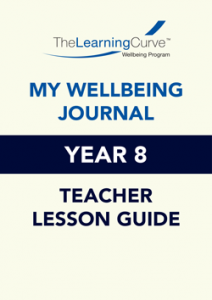 Teacher Lesson Guide – 2021 My Wellbeing Journal 8
