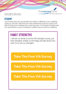Strengths Booster Family Strengths