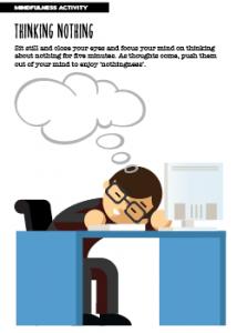Mindfulness Activity Thinking Nothing