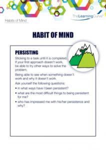 Habit of Mind Persisting