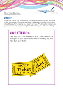 Strengths Booster Movie Strengths