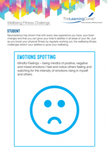 Wellbeing Fitness Challenge Emotions Spotting