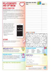 Sample Page Student Planner