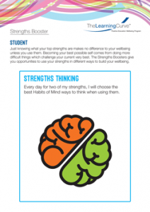 Strengths Booster Strengths Thinking