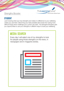 Strengths Booster Media Search