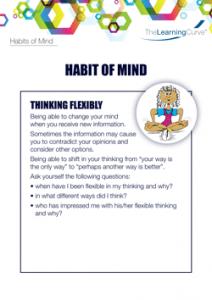 Habit of Mind Thinking Flexibly
