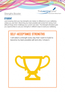 Strengths Booster Self-acceptance Strengths
