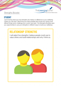 Strengths Booster Relationship Strengths