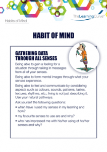 Habit of Mind Gathering Data Through All Senses