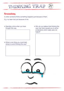 Thinking Trap Personalising