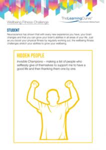 Wellbeing Fitness Challenge Hidden People