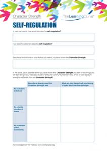 Character Strength Self-Regulation