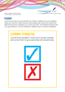 Strengths Booster Learning Strengths