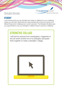 Strengths Booster Strengths Collage