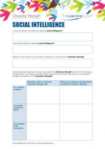Character Strength Social-Intelligence