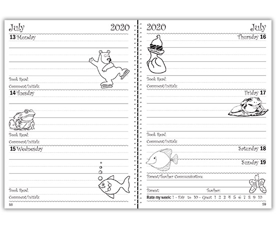 Early Years Planner – example A